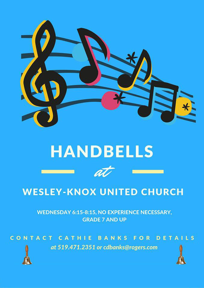 Become a Handbell Ringer!