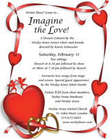 Take an evening off! Support the Growth Campaign! Come to the Imagine the Love Dessert Cabaret!