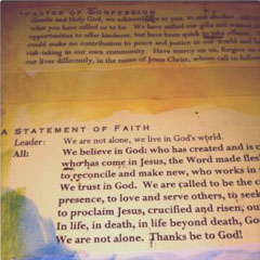 The United Church New Creed