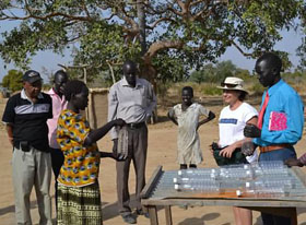 SODIS—Solar Disinfection of water. All you need are clear plastic bottles, ultraviolet light supplied by the sun and a willingness to go through the steps...
