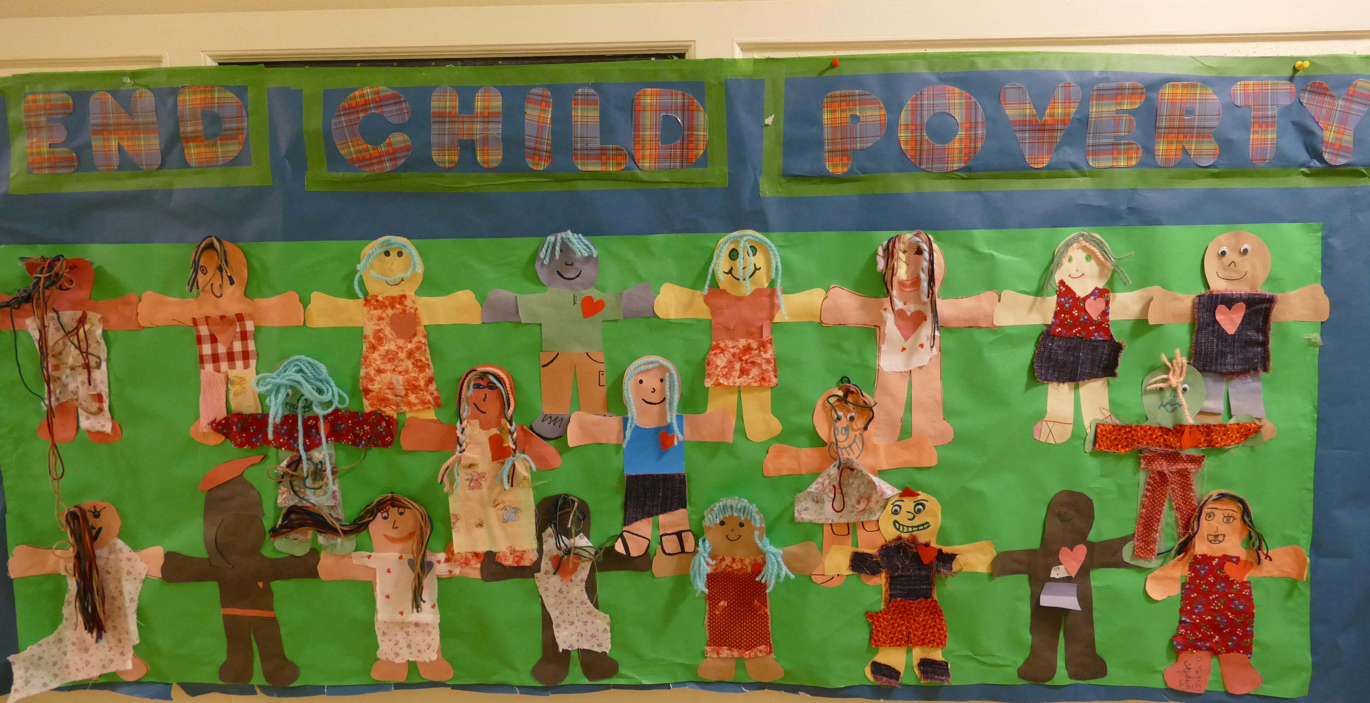 Our Sunday School Paper Doll Banner