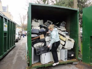The 2012 Recycle Your Electronics Project collected some 5.6 metric tons of electronics and raised over $1000 for Journey with Sudan